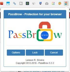 chrome ask for password on startup