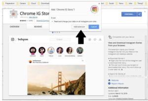 download Instagram videos using a Chrome Plugin on PC