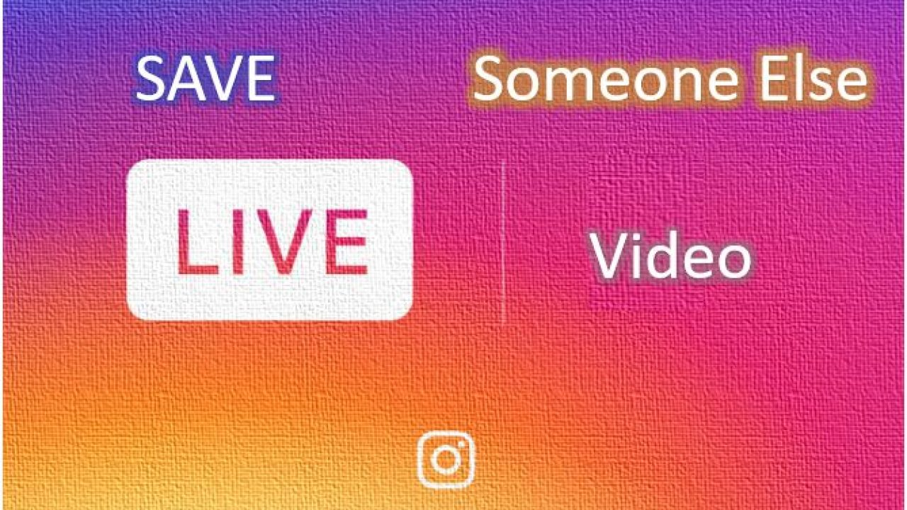 Download Instagram live videos and stories, without