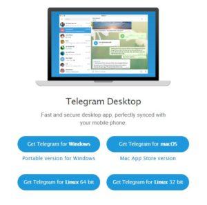 download telegram for desktop PC