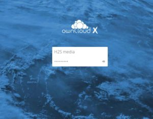 owncloud installation on OWNCLOUD done