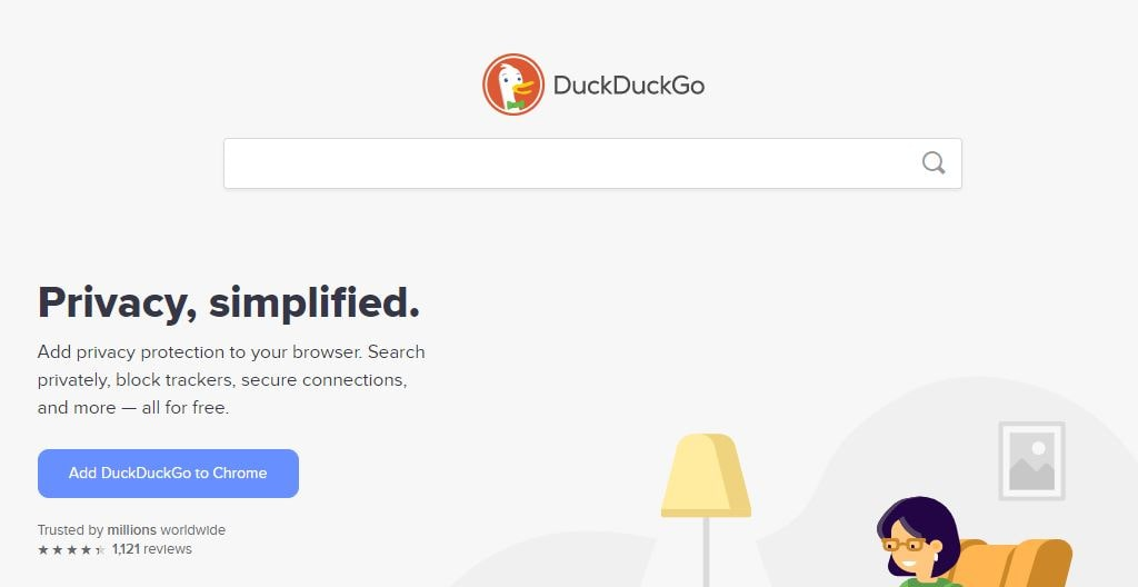 DuckDuckGo best secure search engine