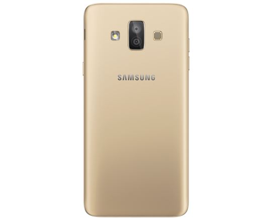 Galaxy Duo J7 Dual camera gold back