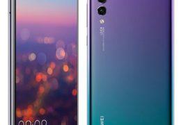 Huawei P20 Pro smartphone wiith triple camera