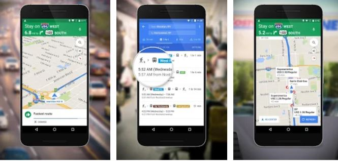 Image of Best Travel Apps in India Google Maps – Navigation & Transit