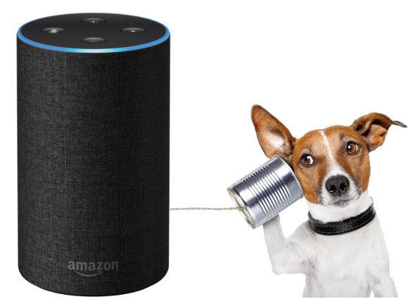 Is Amazon Echo always listening & recording.
