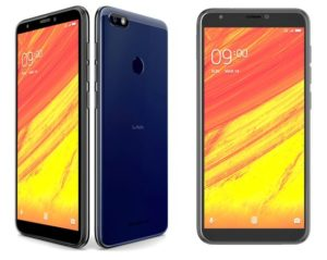 Lava Z91 budget smartphone with a face recognization