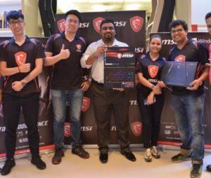 MSI Unveils Gaming Laptops