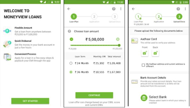 Money View Money Manager Android budgeting apps