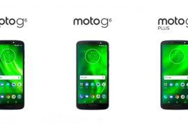 Moto G6, Moto G6 Plus, and Moto G6 Play