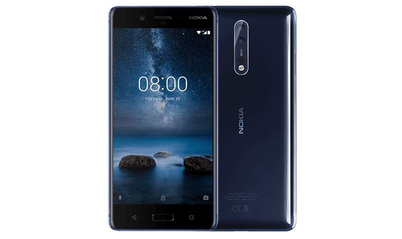 Nokia 8 smartphone specifications