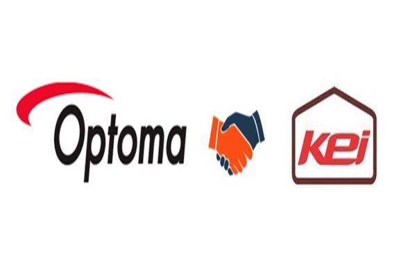 Optoma Partnership with KEI Hi-Fi India