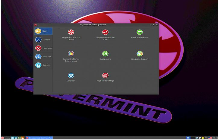 Peppermint cloud linux distro