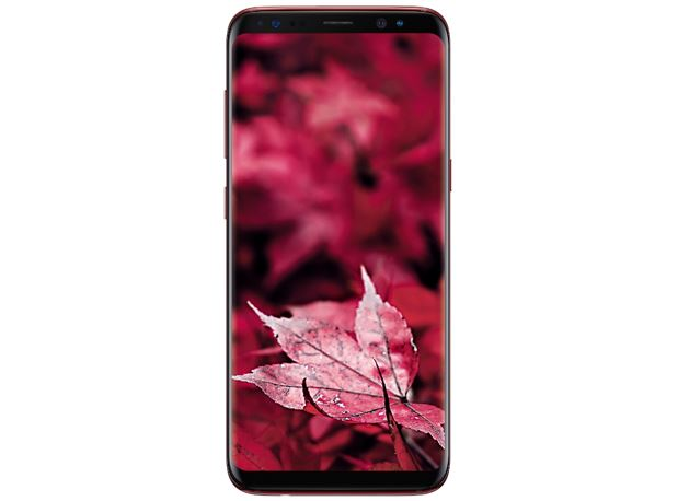 Samsung Limited-Edition Galaxy S8 in Burgundy Red Color (India)