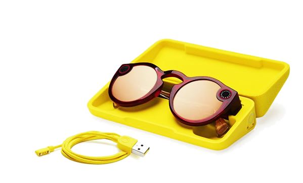 Second generation Snapchat Spectacles