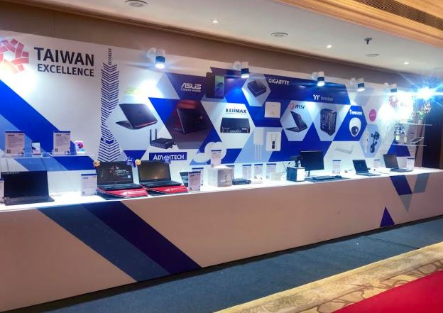 Taiwanese excellence product shocased 2018 new delhi