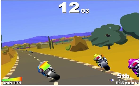 Turbo Spirit XT motocyle game for free online play