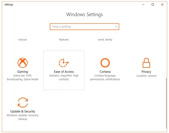 Windows 10 black and white screen settings