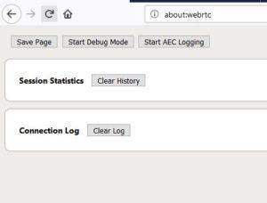 about webrtc command