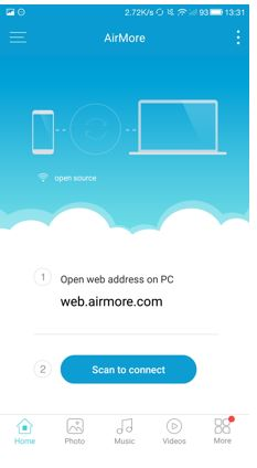 airmore desktop connection for windows and Mac