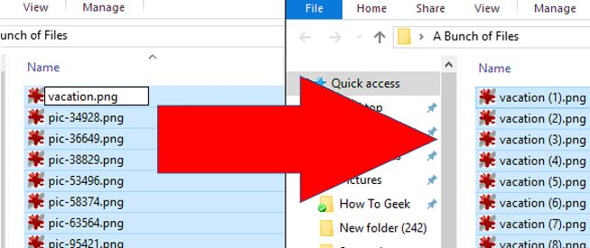 batch rename multiple files at once on Windows