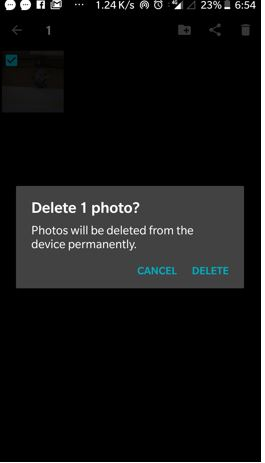 delete whatsapp media files or image from the gallary