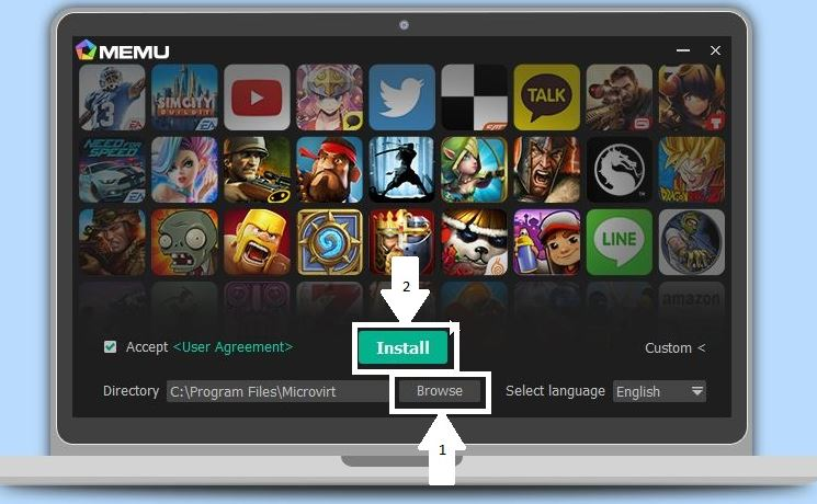 How to install Android apps on PC with MEmu Emulator