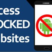 opne and access blocked websites on ANdroid phones