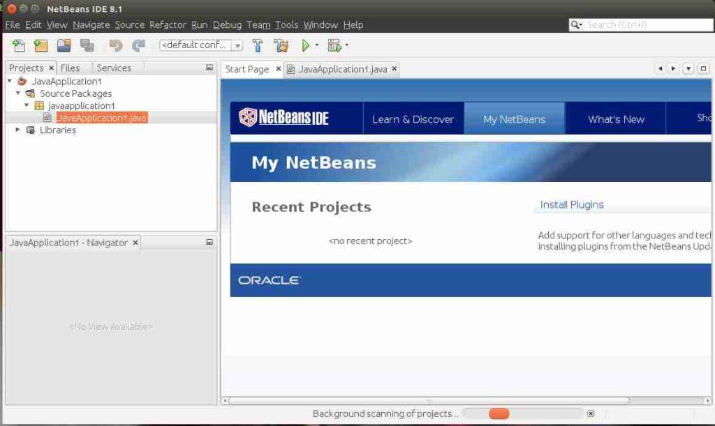 open Netbeans