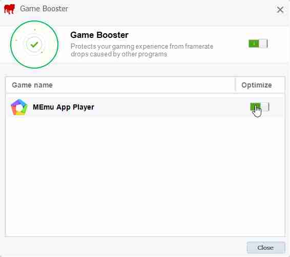 BullGuard Internet Security Game Booster