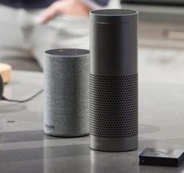 Alexa voice recognition capabilities