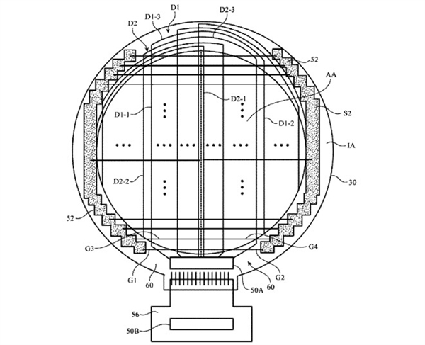 Apple Watch with Circular Interface patent