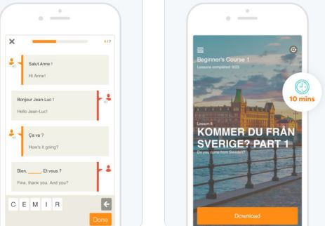 Babbel best englsih learning app