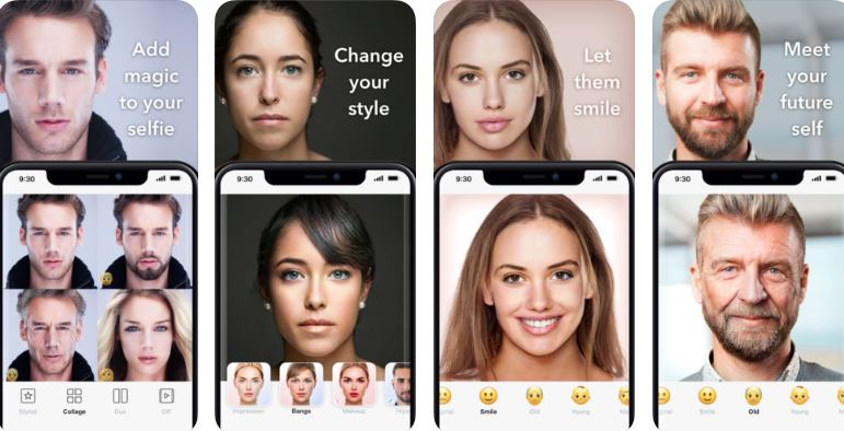 FaceApp Neural Face changer app
