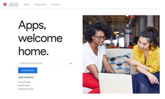 Google. App domain Build for app developers