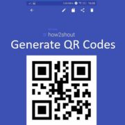 How to generate QR Codes on PC from the web and Android devices