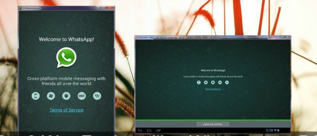 How to install and use WhatsApp Messenger on PC, with an Android emulator