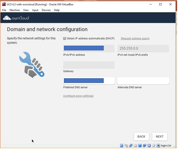 Install OwnCloud server on VirtualBox Virtual Machine 3