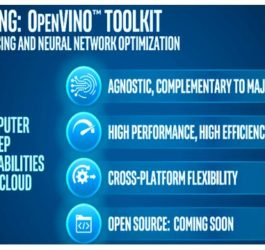 Intel Introduces OpenVINO Toolkit
