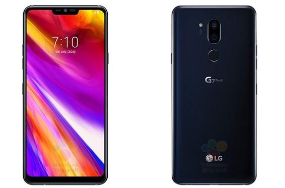 LG G7 smartphone black