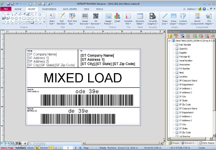 LabelPath for Barcode Label Maker and Printing Software
