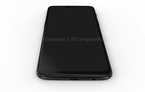 OnePlus 6 front side