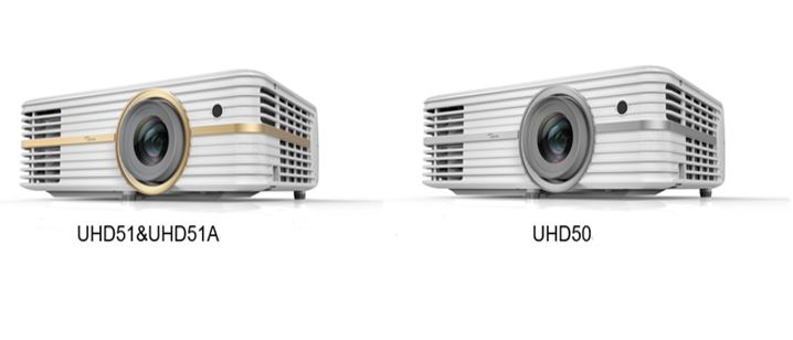Optoma launches new 4K UHD51A, UHD51 and UHD50 Projectors