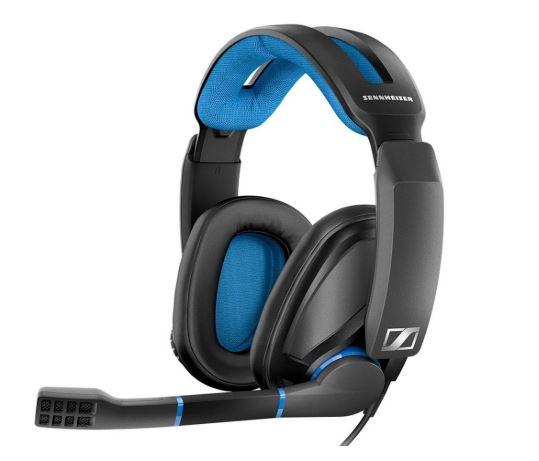Sennheiser GSP 300 Gaming Headphones (Blue-Black)