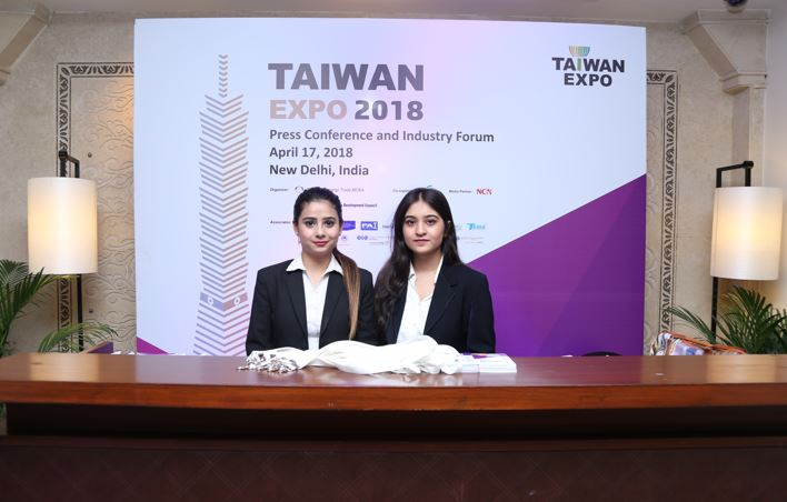 Taiwan expo 2018 india press conference