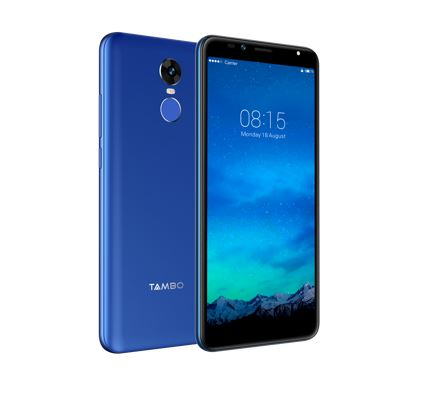 Tambo Superphone TA-4 blue smartphone