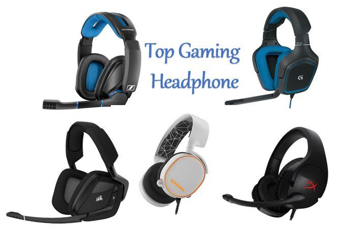 Top Five Gaming Headphones in the Market