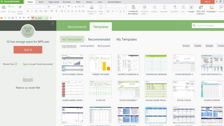 WPS Office free microsoft alternatives