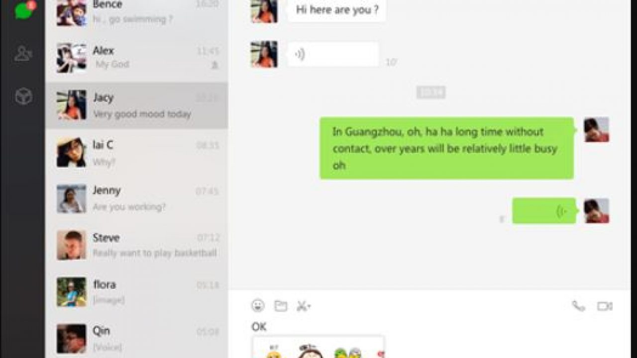 Wechat web login without phone not works: Use these two