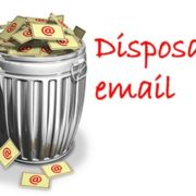 What is disposable email